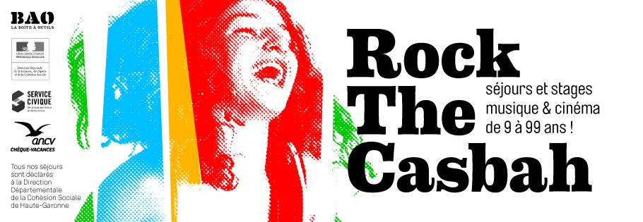 Colonie de vacances musique et cinéma pour ados ROCK THE CASBAH