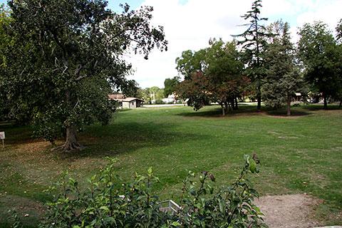 Le parc de 5 hectares de la MFR de Brens
