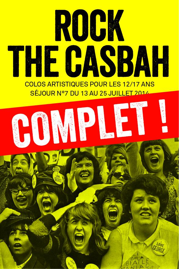 colo musique et cinéma pour ados Rock The Casbah