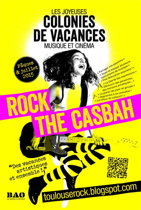 Colos musique et cinéma pour ados Rock The Casbah : ouverture des inscriptions 2015 !