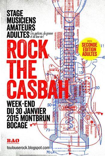 Stages de musique pour adultes Rock The Casbah 2015