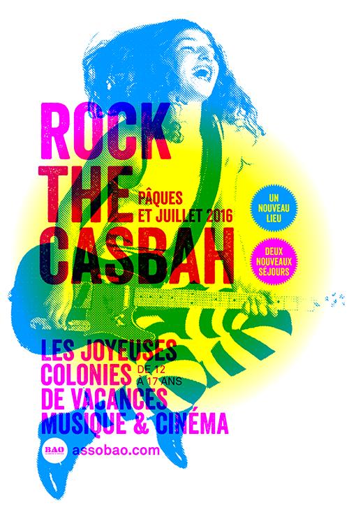 Colos musique et cinéma Rock The Casbah 2016